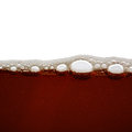 Beer bubbles in the high magnification and close up Royalty Free Stock Image