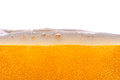 Beer bubbles lots of golden Royalty Free Stock Images