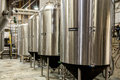 Beer fermenter tank Royalty Free Stock Photo