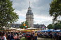 Beer festival in Karlsruhe, Germany Stock Image