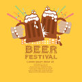 Beer festival vector illustration eps Stock Photography