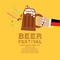 Beer festival vector illustration eps Royalty Free Stock Photos