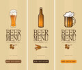 Beer glass Stock Images