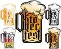 Beer Glass Oktoberfest Lettering Typography Type design Icon Got