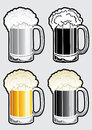 Beer Mug Illustration Royalty Free Stock Photos