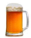 Beer mug isoalted on wwite background Royalty Free Stock Photography