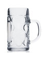 Beer mug on white Royalty Free Stock Image