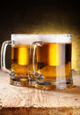 Beer mugs Royalty Free Stock Photos