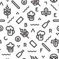Beer pattern geometric