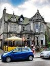 Beer store on roadside in edinburgh scotland photo taken Royalty Free Stock Photos