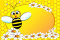 Bees Family: Mom - Kids Illustration Stock Photo