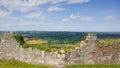 Beeston Castle and Cheshire Plain, England Royalty Free Stock Photo