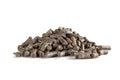Beet pulp pellets Royalty Free Stock Photo