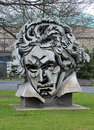 Beethon - a bust of Ludwig van Beethoven in Bonn Royalty Free Stock Images
