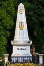 Beethoven Grave at Vienna Central Cemetery Royalty Free Stock Image