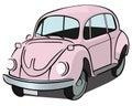 Beetle car Royalty Free Stock Photo