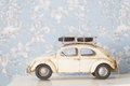 Beetle car vintage toy volkswagen Royalty Free Stock Image