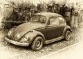 Beetle Retro Car