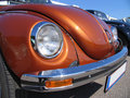 Beetle , Volkswagen , classic design, close-up Royalty Free Stock Photography