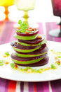 Beetroot and avocado Royalty Free Stock Images
