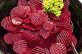 Beetroot salad ready to be served Royalty Free Stock Photography