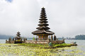 Befog Pura Ulun Danu Temple Stock Photography