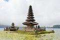 Befog Pura Ulun Danu Temple Stock Photography