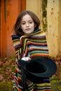 Beggar girl Royalty Free Stock Photo