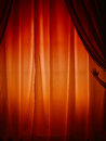 Behind the curtain what does hide useful conceptual Stock Images