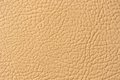 Beige Artificial Leather Texture Royalty Free Stock Images