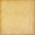Beige background old paper with oriental ornament Royalty Free Stock Photo