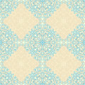 Vintage beige and blue pattern Royalty Free Stock Photo