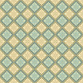 Beige and blue flower pattern Royalty Free Stock Photo
