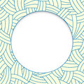 Beige and blue hand-drawn lines background Royalty Free Stock Photo