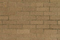Beige bricks wall Stock Images