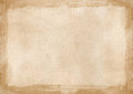 Beige brown grunge retro border textured background powerpoint w Royalty Free Stock Photo