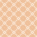 Beige colors flower pattern design korean traditional series Stock Photo