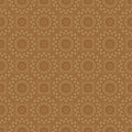 Beige colors round grid pattern korean traditional design series Royalty Free Stock Images