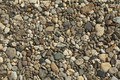 Beige gravel for background texture Stock Photos