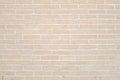 Beige grunge brick wall texture background Royalty Free Stock Photo