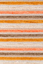 Beige and orange fabric texture closeup detail of background Stock Photos
