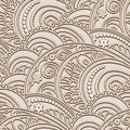Beige pattern vintage seamless in color Royalty Free Stock Photography