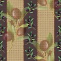 Beige and purple olive pattern