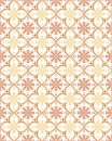 Beige retro seamless flower pattern Royalty Free Stock Photography
