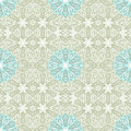 Beige seamless pattern abstract floral with light blue flowers can be used as wallpaper web page background textile design Royalty Free Stock Image
