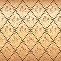 Beige seamless vector pattern with gradient Stock Image