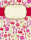 Beige valentine background,  Royalty Free Stock Photos