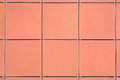 Beige wall tiles Royalty Free Stock Photo