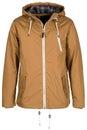 Beige warm jacket Royalty Free Stock Photo