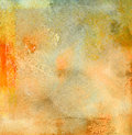 Beige watercolor background Stock Photography